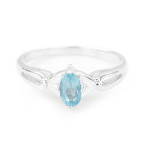 Apatite Silver Ring 1076QY