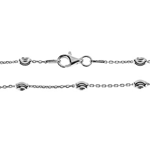 Silver Necklace 1084MF