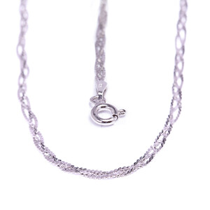 Silver Necklace 1151ZK