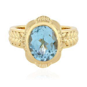 Sky Blue Topaz Silver Ring (Memories by Vincent) 1457DS