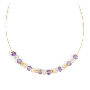 Ametrine Silver Necklace 1512XY