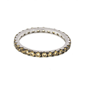 Citrine Silver Ring 1643YH
