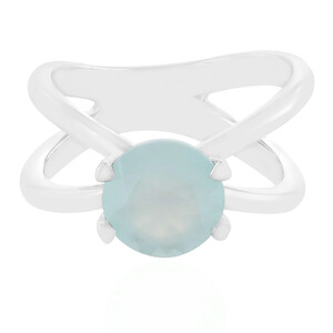 Aquamarine Silver Ring 1786TU