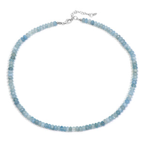 Aquamarine Silver Necklace 1800NM