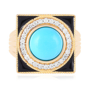 Turquoise Silver Ring 2051AU