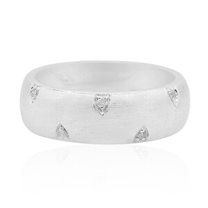 I1 (G) Diamond Silver Ring (Annette) 2210CW