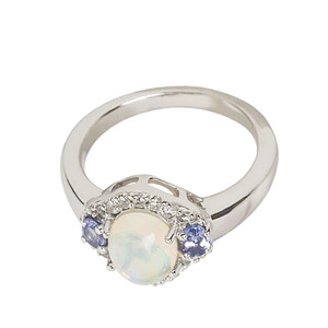 Welo Opal Silver Ring 2308QY