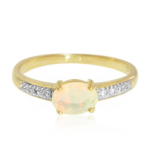 9K Welo Opal Gold Ring 2368TO