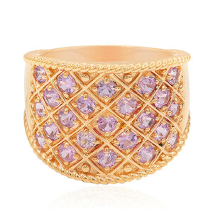 9K Pink Sapphire Gold Ring (Annette) 2376XJ