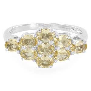 Imperial Topaz Silver Ring 2391MZ