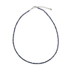 Sodalite Silver Necklace 2420GQ