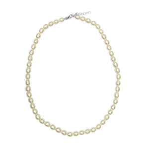 Freshwater pearl Silver Necklace (TPC) 2797AA