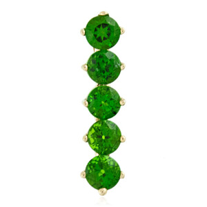 9K Russian Diopside Gold Pendant 2854QH