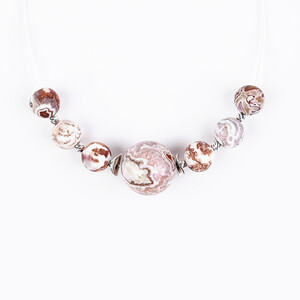 Lace Agate other Necklace 2994EJ