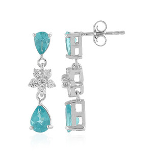 Apatite Silver Earrings 3035XF