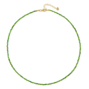 Russian Diopside Silver Necklace 3137HY