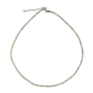Fluorite Silver Necklace 3316AB