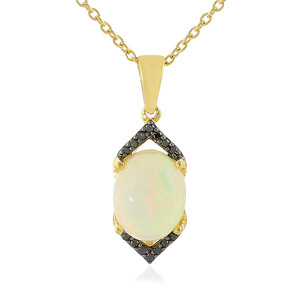 Welo Opal Silver Necklace 3338CW