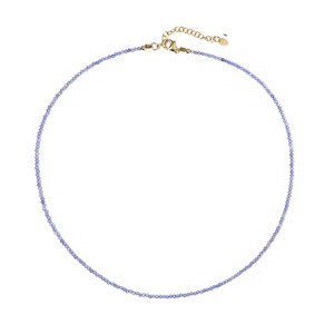 Tanzanite Silver Necklace 3338XF