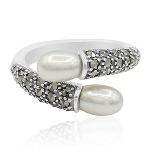 Freshwater pearl Silver Ring 3699MJ