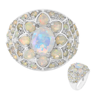 Welo Opal Silver Ring 3778FQ