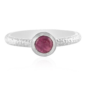 Ruby Silver Ring 3858DP