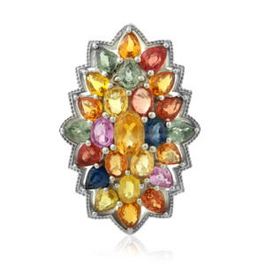 Citrine Silver Ring 4038CL