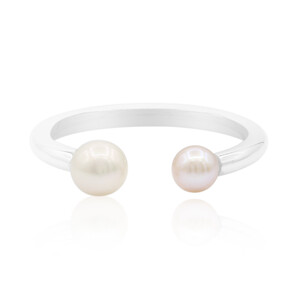 Freshwater pearl Silver Ring 4039OZ