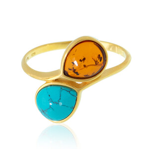 Turquoise Silver Ring (dagen) 4087UU