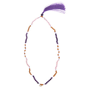 Amethyst Silver Necklace 4107SL