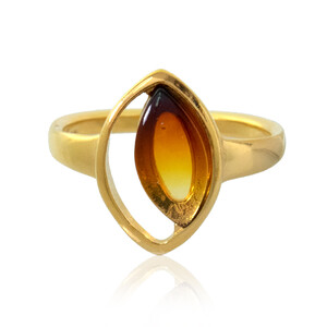 Baltic Amber Silver Ring (dagen) 4158NQ