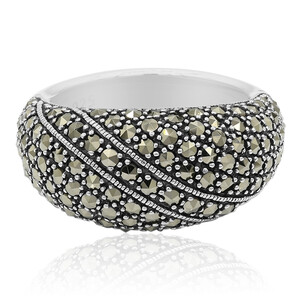 Marcasite Silver Ring 4533US