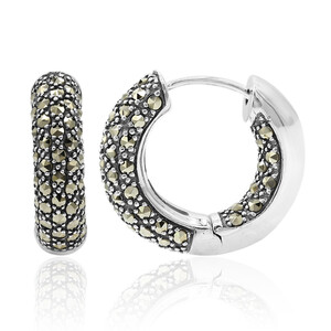 Marcasite Silver Earrings 4533WL