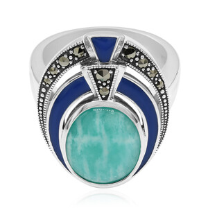 Amazonite Silver Ring 4534MB