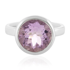 Rose de France Amethyst Silver Ring 4570LW