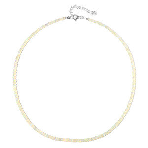 Welo Opal Silver Necklace 4733SC