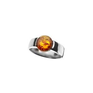 Baltic Amber Silver Ring (dagen) 4816BH