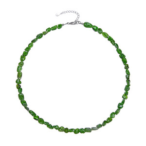 Russian Diopside Silver Necklace 4917OE