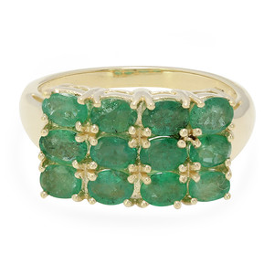 9K Bahia Emerald Gold Ring 4995PM