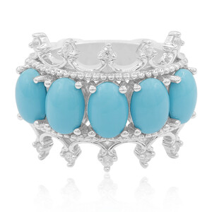 Turquoise Silver Ring (Dallas Prince Designs) 5291DY