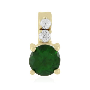 9K Russian Diopside Gold Pendant 5565JQ