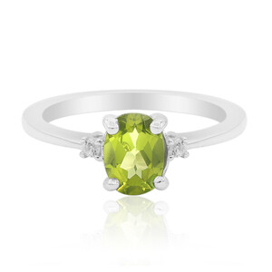 Peridot Silver Ring 6131CJ