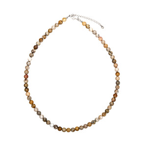 Petrified Coral Silver Necklace 6132EJ
