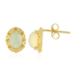Welo Opal Silver Earrings 6161MF