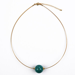 Amazonite Stainless Steel Necklace 6893KA