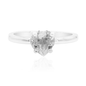 White Topaz Silver Ring 7137QK