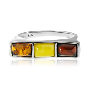 Baltic Amber Silver Ring (dagen) 7213DS