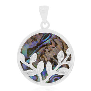 Abalone Shell Silver Pendant 7250YP