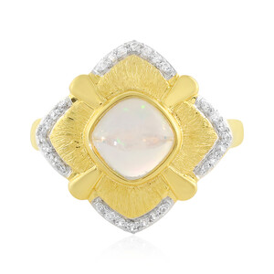 Welo-Opal-Silberring (MONOSONO COLLECTION) 7505SM
