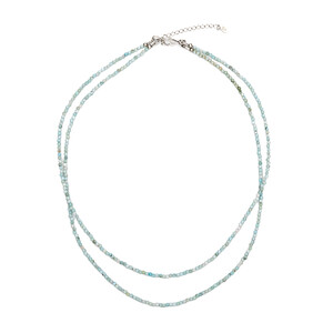 Larimar Silver Necklace 7550IO
